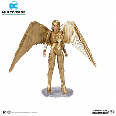 DC Multiverse Action Figure Wonder Woman 1984 Golden Armor 18 cm