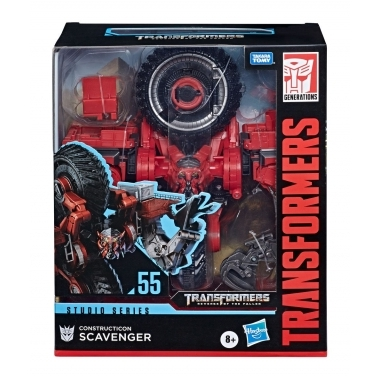 Transformers  Constructicon Scavenger 18 cm (Studio Series Leader Class 2020)