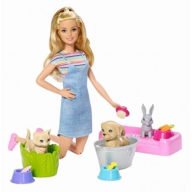Barbie Family  -  set de joaca cu animalute