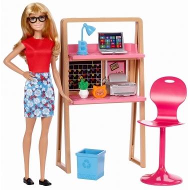 Barbie Estate - set birou pentru studiu