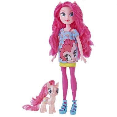 My Little Pony - Papusa Pinkie Pie cu ponei
