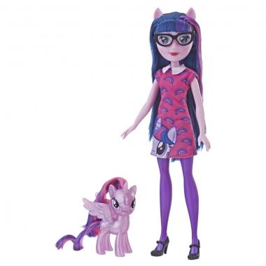 My Little Pony - papusa Twilight Sparkle cu ponei