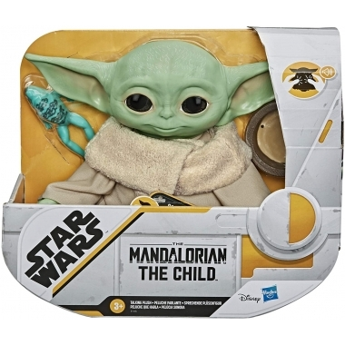 Star Wars The Mandalorian Talking Plush Toy The Child 19 cm