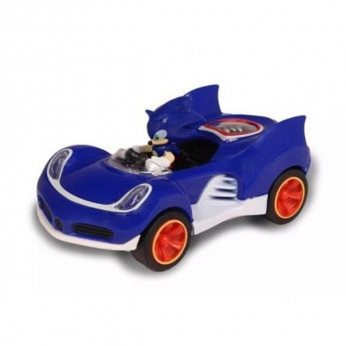 Sonic & All-Stars Racing Transformed Pullback Car Sonic 9 cm