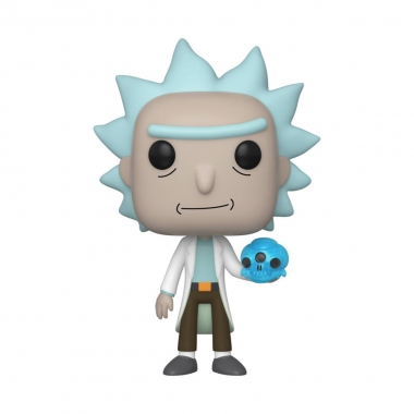 Rick & Morty POP! Animation Vinyl Figure Rick with Crystals 10 cm