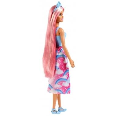 Barbie Dreamtopia papusa cu rochita curcubeu