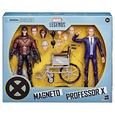 X-Men Marvel Legends 2-Pack 2020 - Magneto si Professor X 15 cm