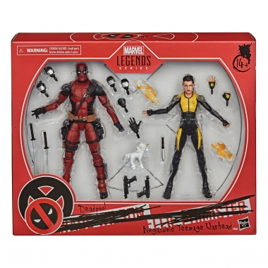 Deadpool Marvel Legends Action Figure 2-Pack 2020 Deadpool & Negasonic Teenage Warhead 15 cm