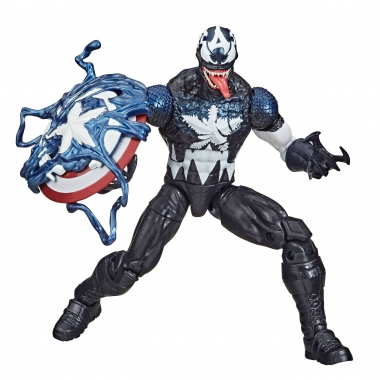 Spider-Man: Maximum Venom Marvel Legends Series -  Venomized Captain America 15 cm