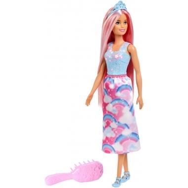 Barbie Dreamtopia - Printesa cu par curcubeu
