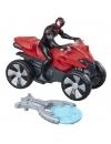 Masinuta ATV a lui Spider-man cu figurina si lansator