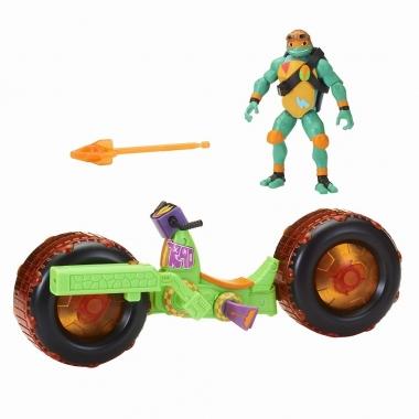 Testoasele Ninja - vehicul cu figurina Michelangelo