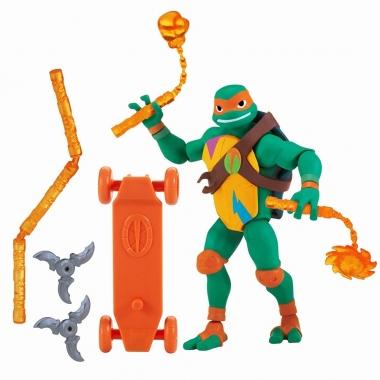 Testoasele Ninja figurina Michelangelo cu accesorii