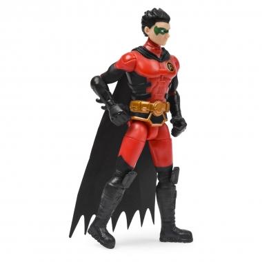 Figurina Robin flexibila 10 cm cu 3 accesorii surpriza