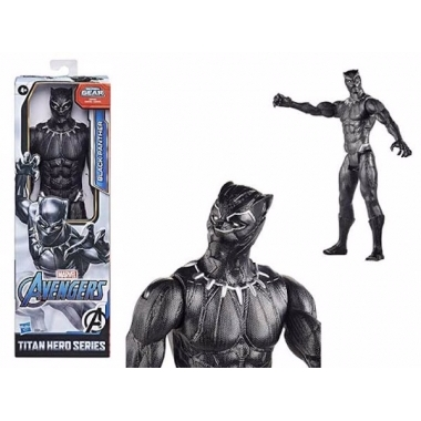 Avengers, Figurina Black Panther 30 cm (Titan Hero Movie)