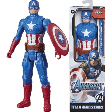 Avengers, Figurina Captain America 30 cm (Titan Hero Movie)