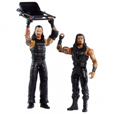 Roman Reigns & Undertaker - WWE Battle Packs 66, 17 cm