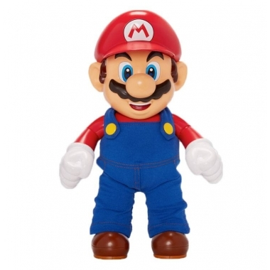 World of Nintendo, figurina articulata It's-A Me! Mario cu fraze 30 cm