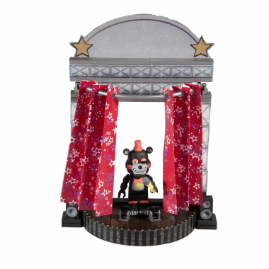 Five Nights at Freddy's Medium Construction Star Curtain Stage (100 piese) (noiembrie)