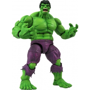 Marvel Select Action, figurina Rampaging Hulk 25 cm (martie 2021)