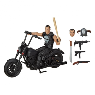 Marvel Legends Series Action Figure with Vehicle 2020 The Punisher 15 cm (noiembrie)