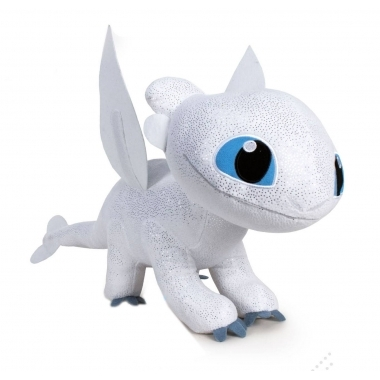 How to Train Your Dragon 3, Jucarie Plus Light Fury 60 cm