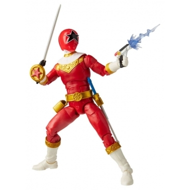 Power Rangers Figurina Zeo Red Ranger 15 cm (Lightinng Collection)