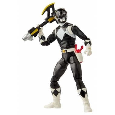 Power Rangers Mighty Morphin Black Ranger 15 cm (Lightning Collection)