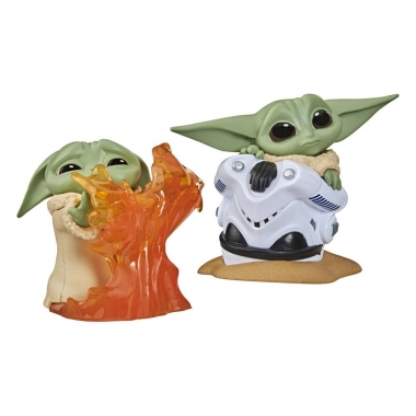 Mini-figurine Star Wars: The Child Helmet Hiding & Stopping Fire