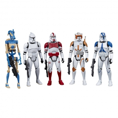 Star Wars Celebrate the Saga Action Figures 5-Pack Galactic Republic 10 cm