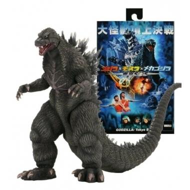 Godzilla 2003 (Godzilla: Tokyo S.O.S.) 15 cm inaltime, 30 cm de la cap la coada