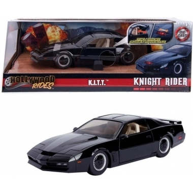 Hollywood Rides Knight Rider KITT 1982 Pontiac Trans Am 1/24