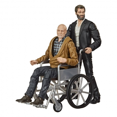 Marvel Legends Series Action Figure 2-Pack 2020 Marvel's Logan & Charles Xavier Exclusive 15 cm