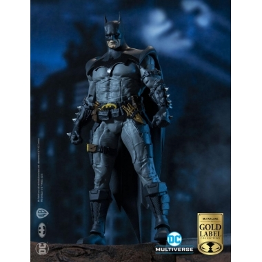 DC Multiverse Batman Designed by Todd McFarlane Gold Label Collection 18 cm