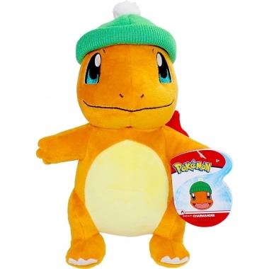 Pokemon, Jucarie de plus Charmander (editie iarna) 20 cm