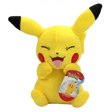 Pokemon. Jucarie de plus Smile Pikachu 20 cm