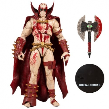 Mortal Kombat 4 Figurina Spawn Bloody 18 cm
