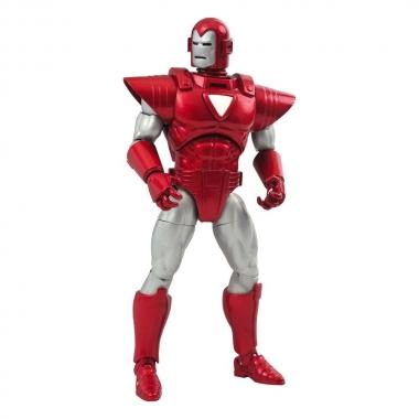 Marvel Select Action Figure Silver Centurion Iron Man 18 cm
