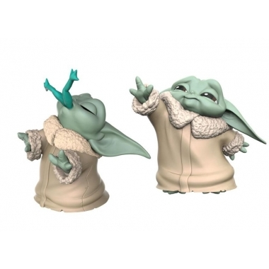 Mini-figurine Star Wars: The Child Froggy Snack & Force Moment
