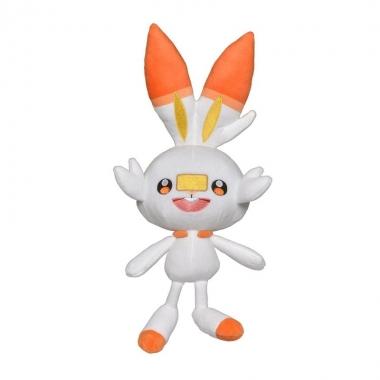 Pokemon, Jucarie de plus Scorbunny 20 cm