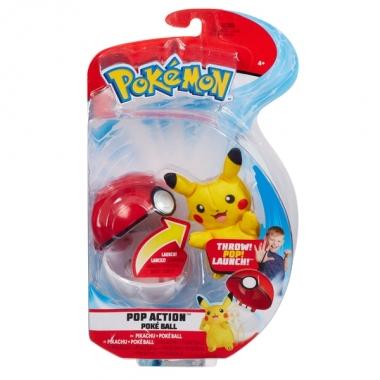 Pokémon, Pikachu (plus 6 cm) in bila lansatoare