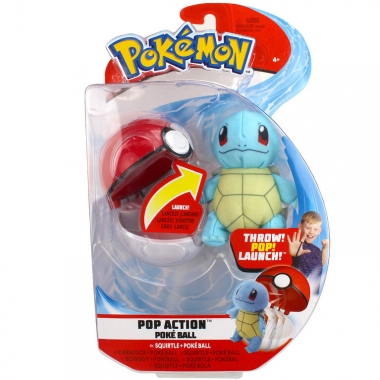 Pokémon,  Squirtle (plus 6 cm) in bila lansatoare