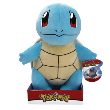 Pokemon, jucarie de plus Squirtle 30 cm