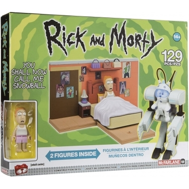 Rick and Morty Construction Medium Set You Shall Now Call Me Snowball