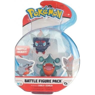 Pokémon Battle Mini Figurine - Gible & Zorua 5 - 8 cm (ianuarie 2021)