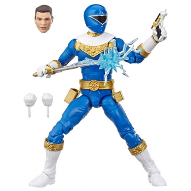 Power Rangers Lightning Collection Zeo Blue Ranger Action Figure 15 cm