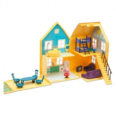 Peppa Pig - set casa cu doua figurine
