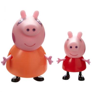 Set figurine Pepa Pig si Purcelusa Mami
