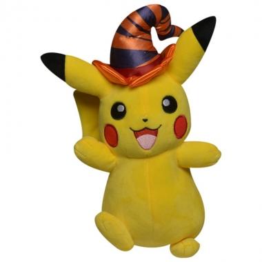 Pokemon, Jucarie de plus Pikachu  cu palarie 20 cm