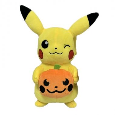 Pokemon, Jucarie de plus Pikachu  dovleac in brate 20 cm